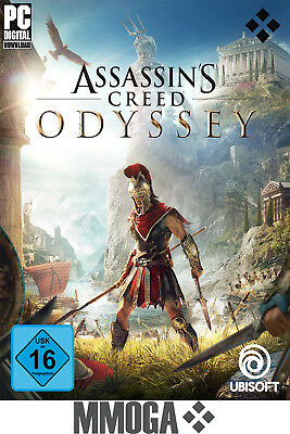 Assassins Creed Odyssey - PC Uplay Download Code - Ubisoft Spiel - EU&DE