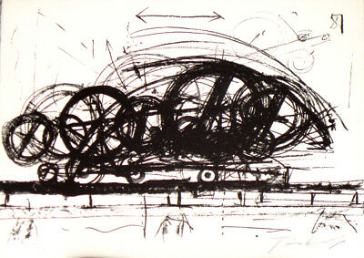 Tinguely  Jean     Lithographie