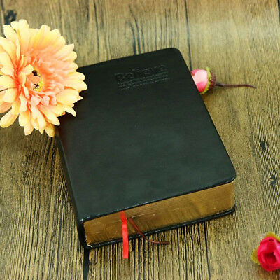Retro Bible Diary Vintage Leather Notebook Journal Notepad Travel Sketchbook CHL