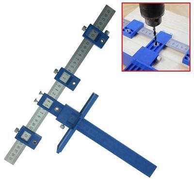 Hole Punch Jig Tool Drill Guide Sleeve Cabinet Hardware Wood Hand Tool Sets LC