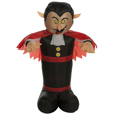 1.2m Halloween Party Inflatable Dracula Vampire & Cloak Outdoor Decoration Prop