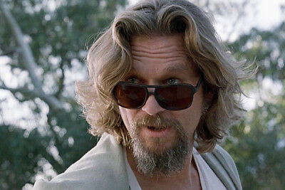 Jeff Bridges The Big Lebowski Large Poster With Sunglasses