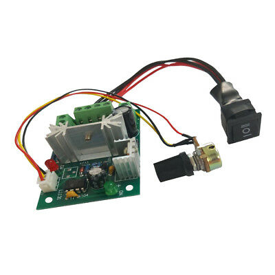DC 6A Motor Speed Control Reversible PWM Controller Board DC 6V 12V 24V