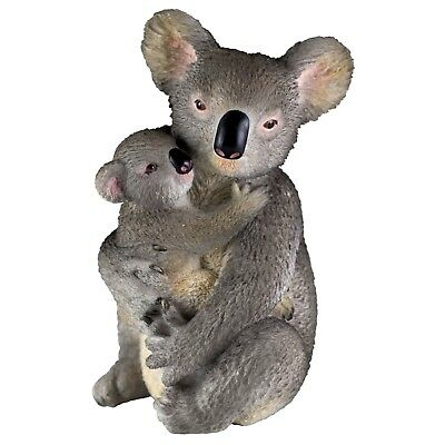 "Koala Mother and Baby Figurine 4.25"" High Polystone New In Box"