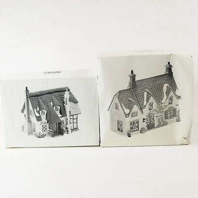 Dept 56 Dickens Village Oliver Twist Christmas Brownlow House Maylie Cottage