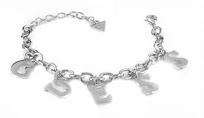 GUESS Follow My Charm Bracelet L Silver