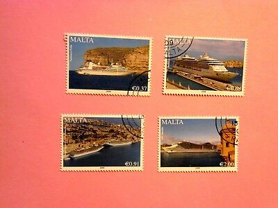 MALTA: 2009  Cruise Liners (2nd series)  4 values VFU  Sg1627/30