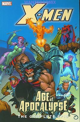 X-Men Complete Age Of Apocalypse Vol 2 Tpb Wolverine Bishop New 1 Free Shipping