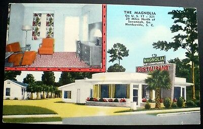 1940s The Magnolia Motel and Restaurant, Hardeeville, SC