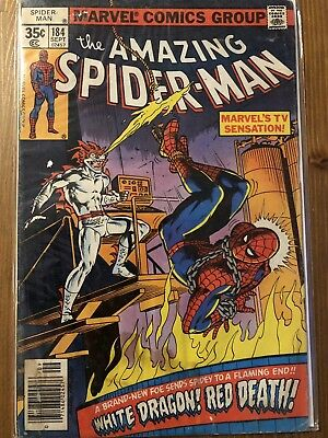 the amazing spiderman # 184 I US-Comic 1978 I Z: 2-