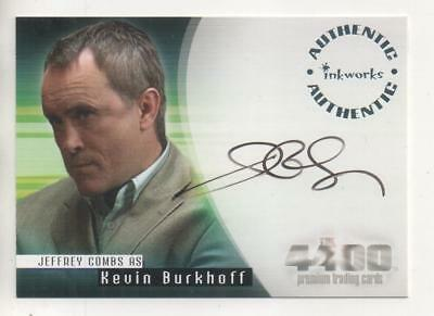 "The 4400  Auto Trading Card No.A17 Jeffrey Combs ""Kevin Burkhoff"""