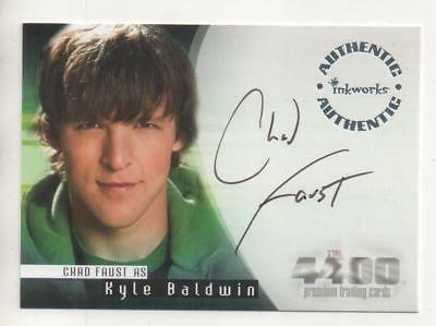 "The 4400  Auto Trading Card No.A10 Chad Faust ""Kyle Baldwin"""