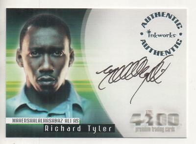 "The 4400  Auto Trading Card No.A13 Mahershalalhashbaz Ali ""Richard Tyler"""