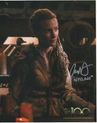 "The 100 Auto Photograph Jessica Harmon ""Niylah"""