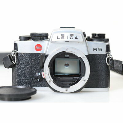 Leica R5 35mm Reflex Camera/Case/Camera in Chrome
