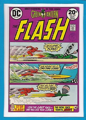 The Flash #223_October 1973_Very Fine+_Green Lantern_Bronze Age Dc!