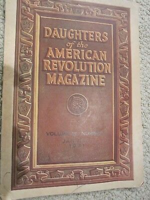 Daughters Of The American Revolution MagazineJan 1931; vol. 65 Number 1
