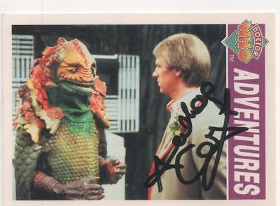 "Dr Who Cornerstone Card No.39 Auto by Anthony Calf ""Charles"""