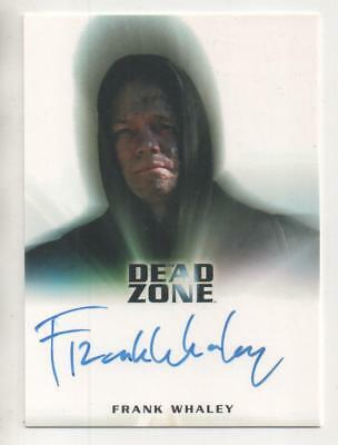 "Dead Zone  Auto Trading Card Frank Whaley ""Christopher Wey"""