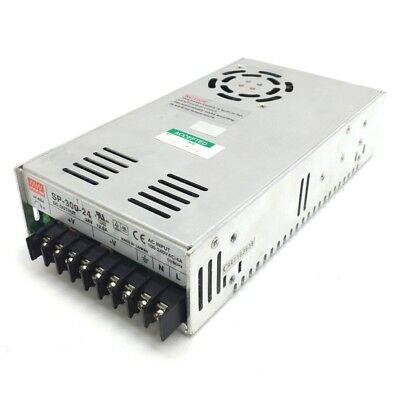 Mean Well SP-300-24 Power Supply, Input: 100-240VAC 4A, Output: 24VDC 12.5A