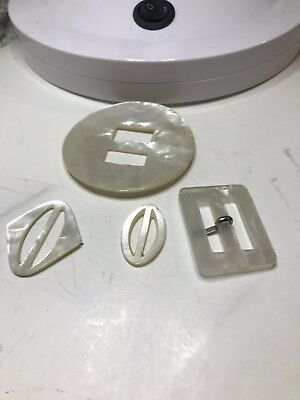 Group Of Mother Of Pearl Buckles