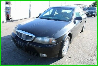 2004 Lincoln LS V6 2004 Lincoln LS Automatic 6 Cylinder NO RESERVE