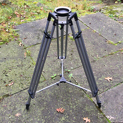 Peter Lisand Model JR-A-74 Two Stage Heavy Duty Aluminum Tripod with 100mm Bowl