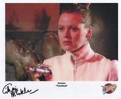 "Blake's 7 Auto Photo Print Gillian McCutcheon ""Kostos"""