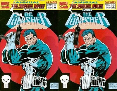 Punisher Annual #5 1992 Volume 2 (1987-1995) Marvel Comics - 2 Comics