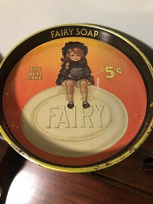 Vintage FAIRY SOAP Serving Tray CHEINCO