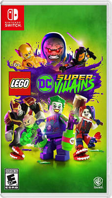 LEGO DC Super-Villains NSW New Nintendo Switch,Nintendo Switch