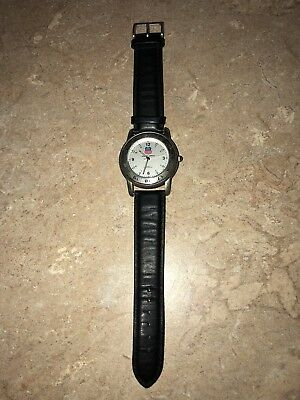 """Union Pacific """"Building America"""" Genuine Leather Collectors Wristwatch"""