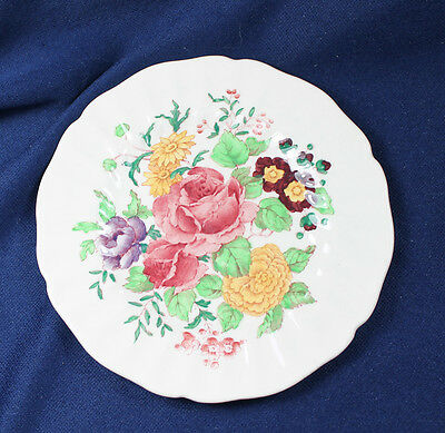 "ROYAL DOULTON ENGLISH POSEY BREAD & BUTTER  6-1/4"" PLATE set of 3"