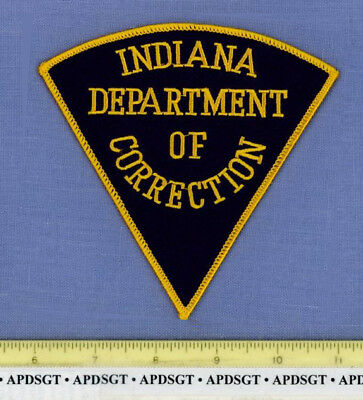 INDIANA DOC DEPARTMENT of CORRECTIONS Sheriff State Police Patch PRISON JAIL