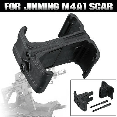 Black Double Magazine Connector JinMing M4A1 Scar Gel Ball Blaster Outdoor Toy