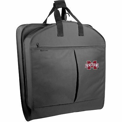 WallyBags Mississippi State Bulldogs 40-inch Pocketed Garment Bag