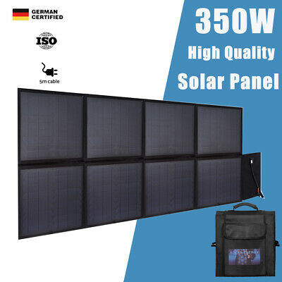 200W 12V Folding Solar Panel Kit Flexible Silicon Blanket for Camping Charging