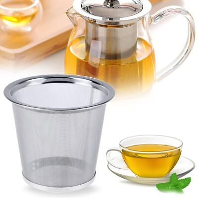 Stainless Steel Mesh Infuser Reusable Tea Strainer Leaf Spice Filter for Teapot