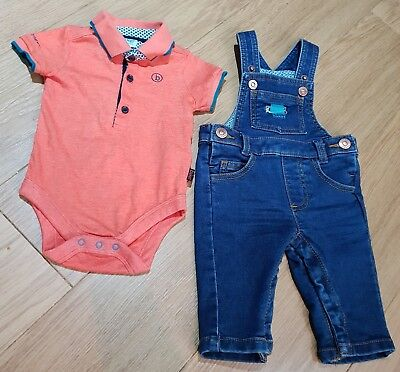Baby Boys 0-3 Ted Baker Outfit VGC