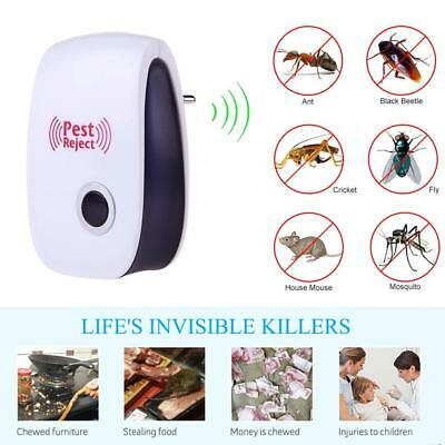 Ultrasonic Pest Reject Electronic Magnetic Repeller Anti Mosquito Insect Ki
