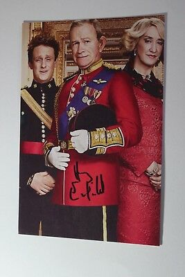 Harry Enfield (The Windsors) Signed Card-Like Photo Paper
