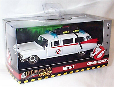 ECTO-1 Ghostbusters Hollywood Rides Series 1-32 Mint boxed new Jada 99748
