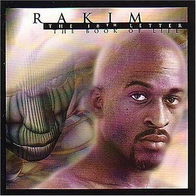 Rakim - 18th Letter/The Book of Life (1997) - CD Album - great condition