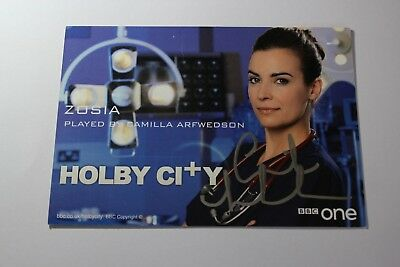Camilla Arfwedson (Holby City) Signed Cast Card