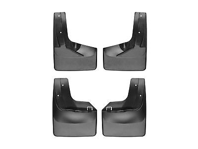 Weathertech No Drill Mudflaps For Ford Expedition El   Front Rear Set