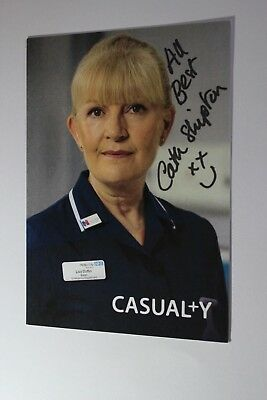 Cathy Shipton (Casualty) Signed Cast Card