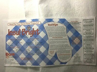 """Needle-punched insulated lining Insul Bright 22"""" (56cm) Wide - choose amount"""