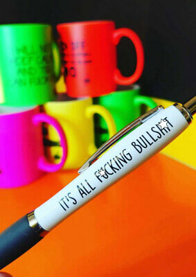 Funny Pens - Rude Cheeky Novelty Office  Secret Santa bullsh*t	PEN26