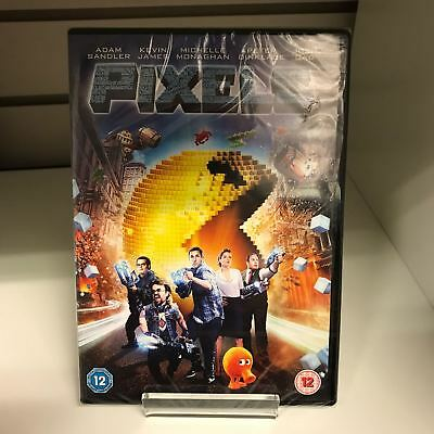 Pixels DVD - New and Sealed Fast and Free Delivery