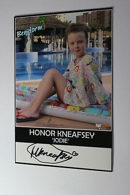 Honor Kneafsey (Benidorm) Signed Cast Photo